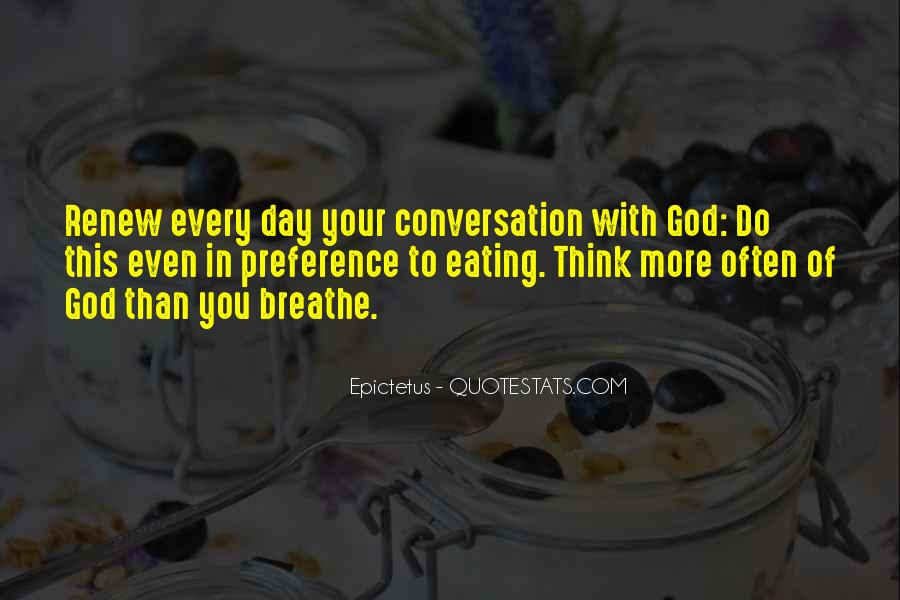 God Conversation Quotes #276976