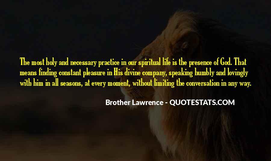 God Conversation Quotes #35538