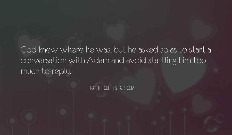 God Conversation Quotes #500263