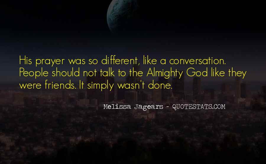 God Conversation Quotes #746542