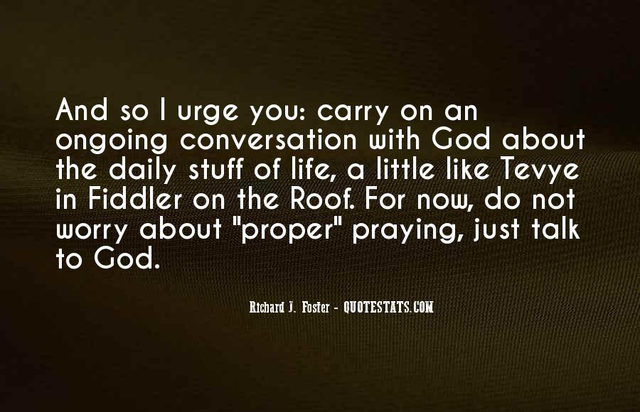 God Conversation Quotes #753767