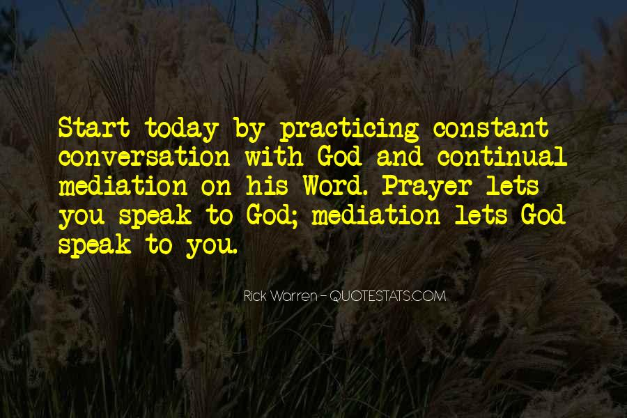 God Conversation Quotes #80290
