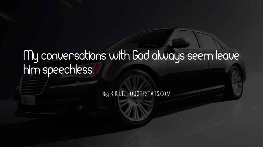 God Conversation Quotes #843255