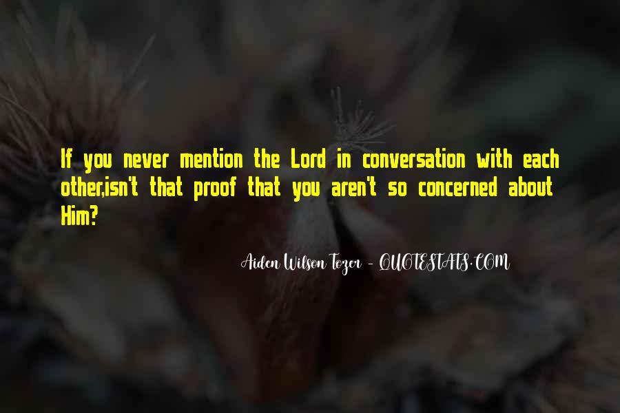 God Conversation Quotes #939344