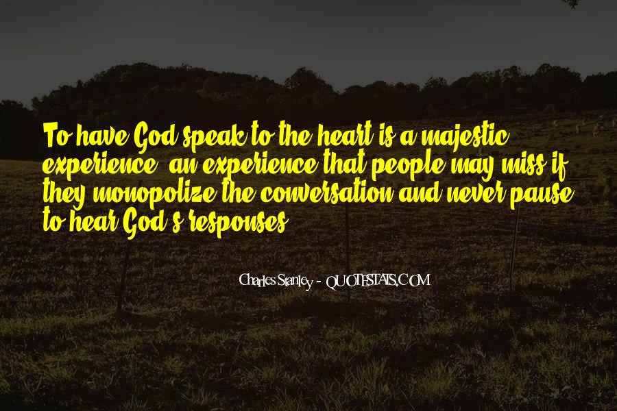 God Conversation Quotes #999122
