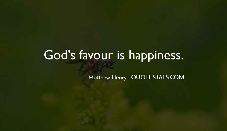 God Favour Quotes #1211938