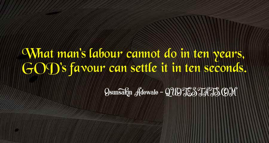 God Favour Quotes #216455