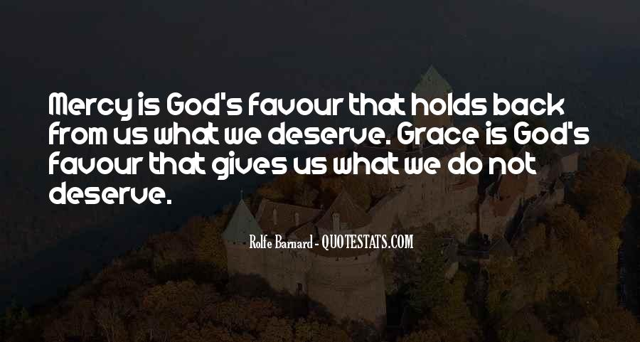 God Favour Quotes #286542