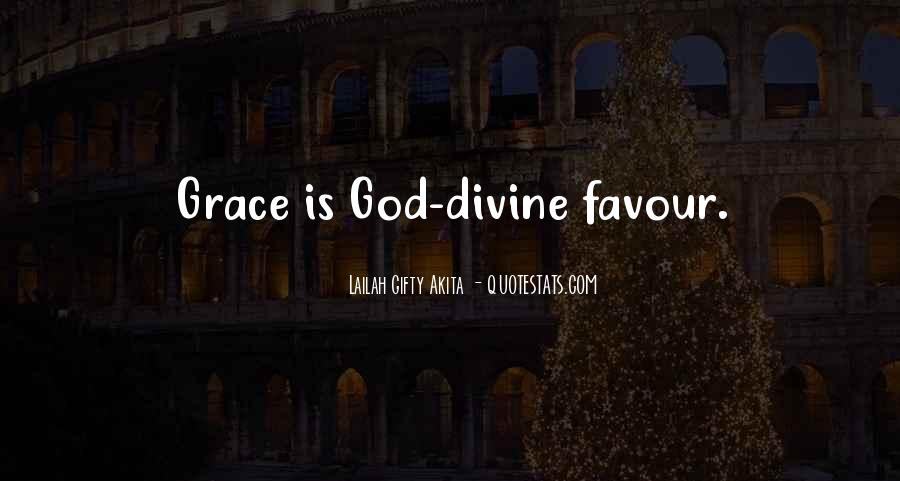 God Favour Quotes #343774