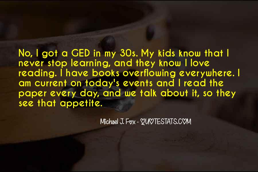 Quotes About Ged #1574339