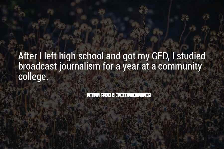 Quotes About Ged #679720