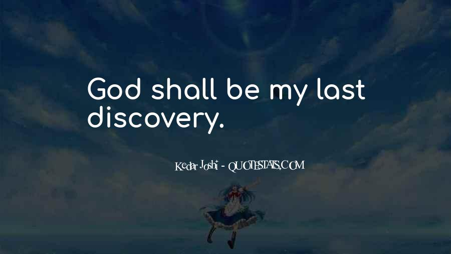 God God Quotes #742