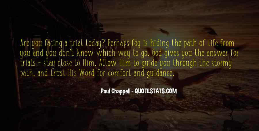 God Guide My Path Quotes #1702006