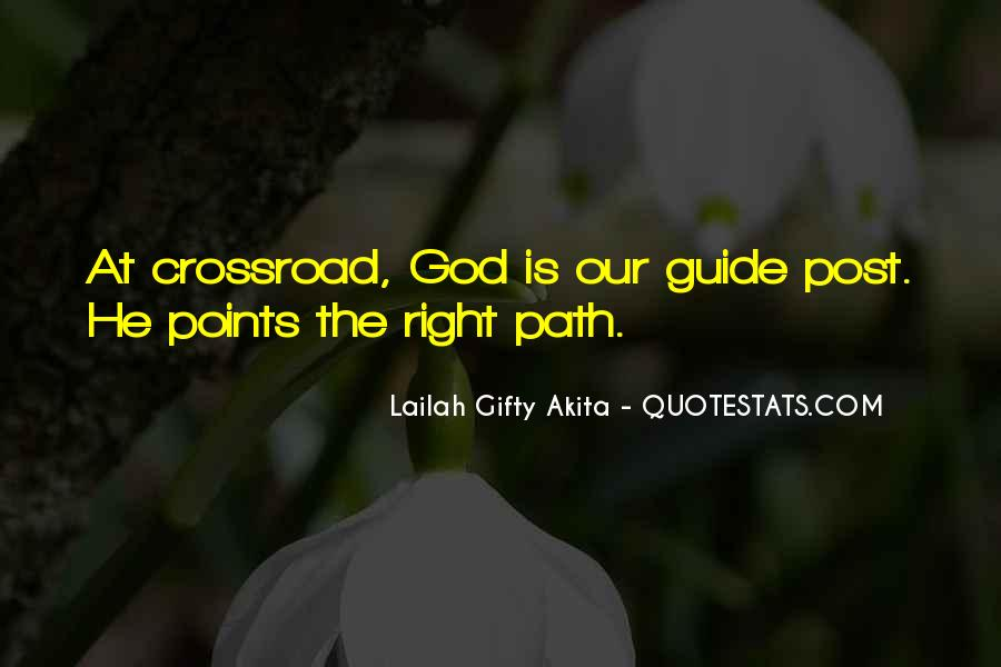 God Guide My Path Quotes #510236