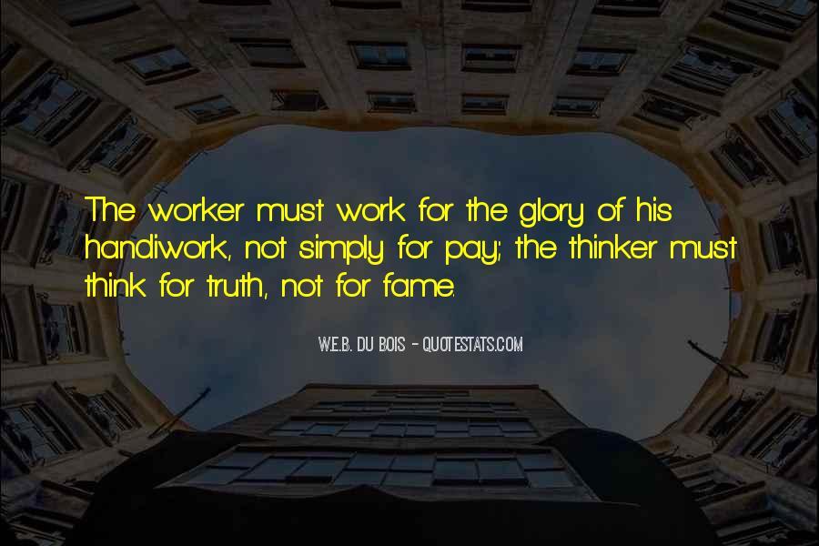 God Handiwork Quotes #1041172