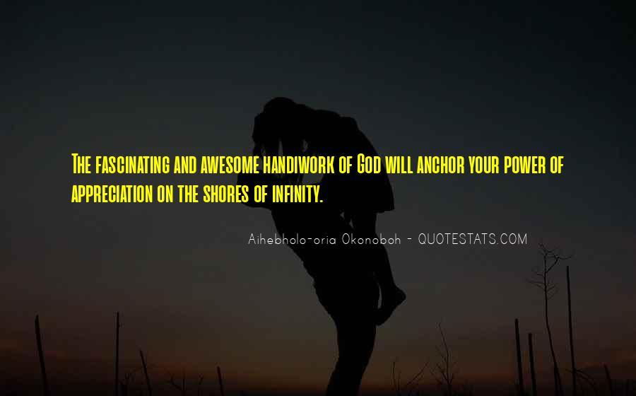 God Handiwork Quotes #1097112