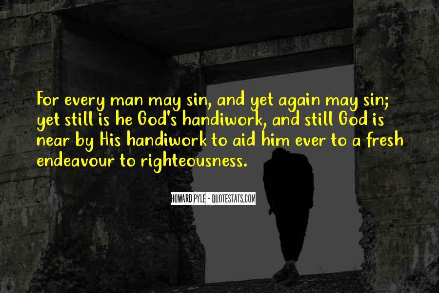 God Handiwork Quotes #1157288