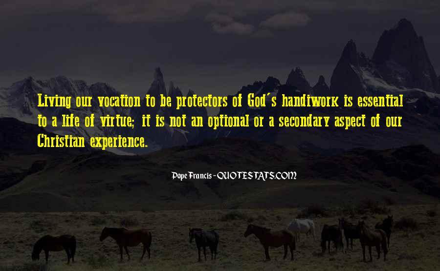 God Handiwork Quotes #1207704