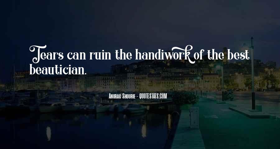 God Handiwork Quotes #249387