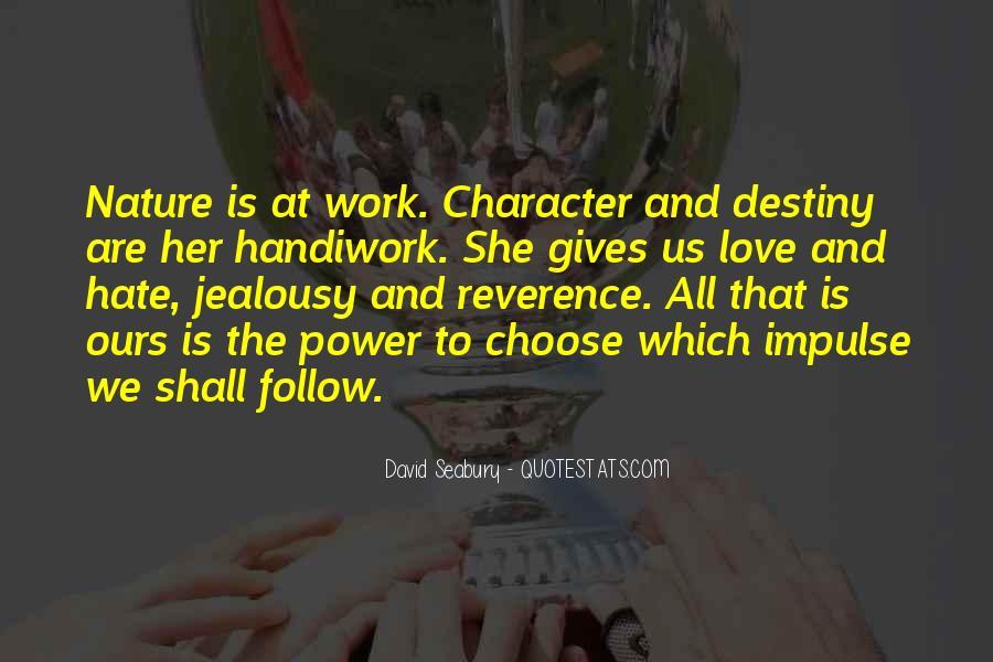 God Handiwork Quotes #360988