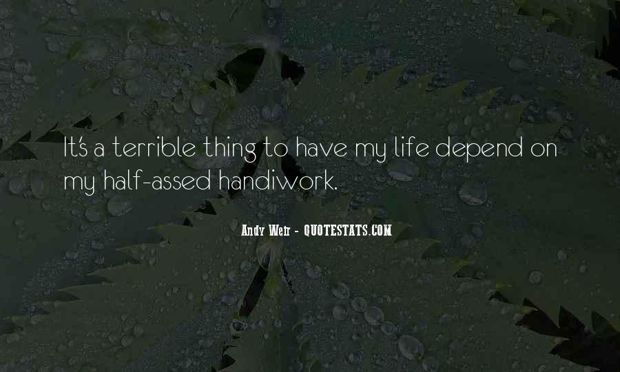 God Handiwork Quotes #382259