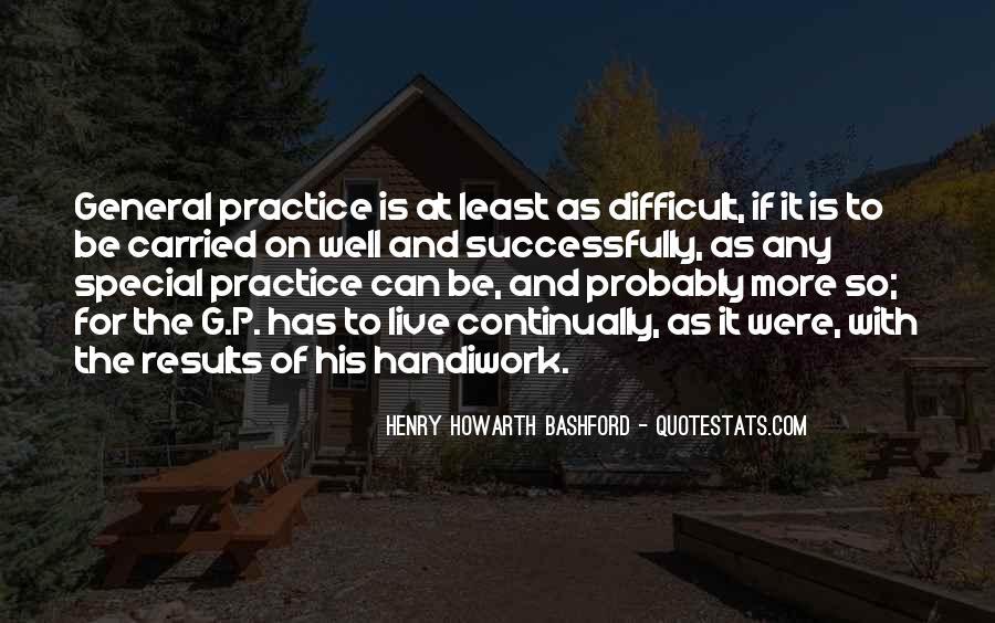 God Handiwork Quotes #812347