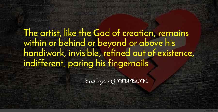 God Handiwork Quotes #935820