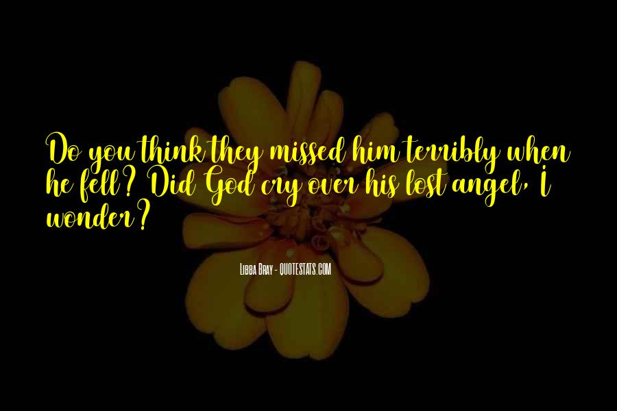 God Has An Angel Quotes #105596