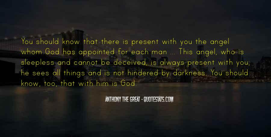 God Has An Angel Quotes #182012