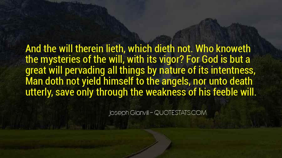 God Has An Angel Quotes #26762