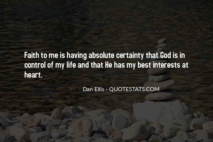 God Has My Heart Quotes #1705449