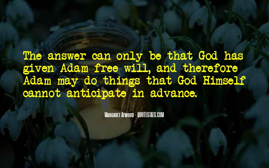 God Has The Answer Quotes #1012040