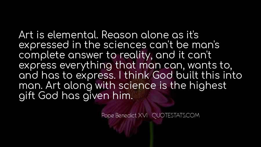 God Has The Answer Quotes #1419649