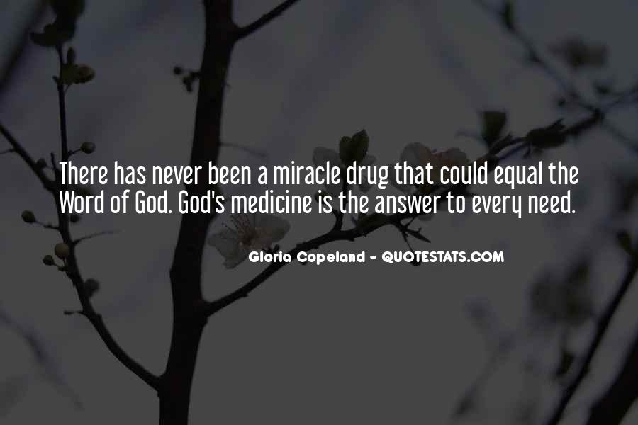 God Has The Answer Quotes #1448553