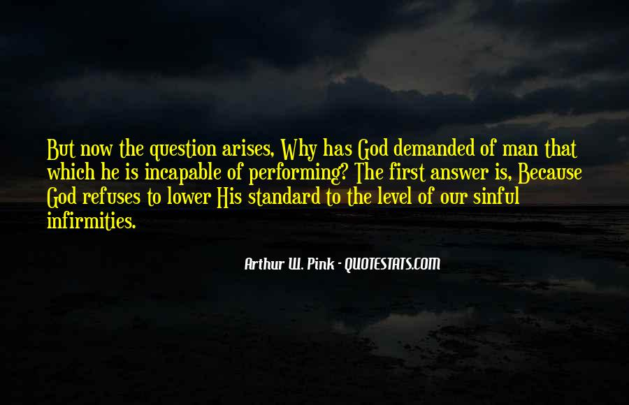 God Has The Answer Quotes #42768