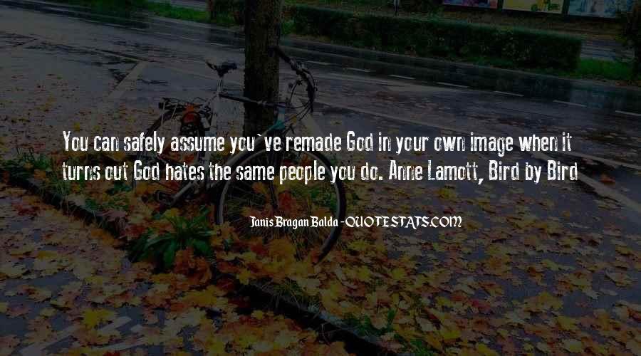 God Hates Us Quotes #126773