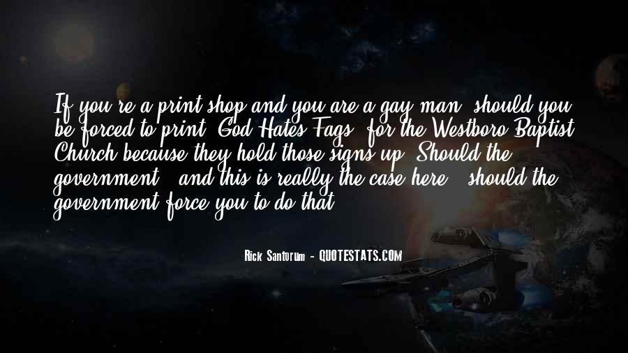 God Hates Us Quotes #146839