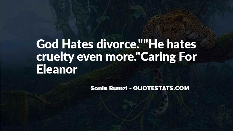 God Hates Us Quotes #174407