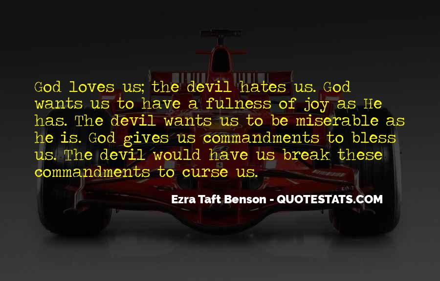 God Hates Us Quotes #1857330