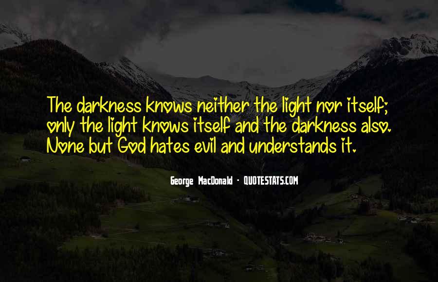 God Hates Us Quotes #328002