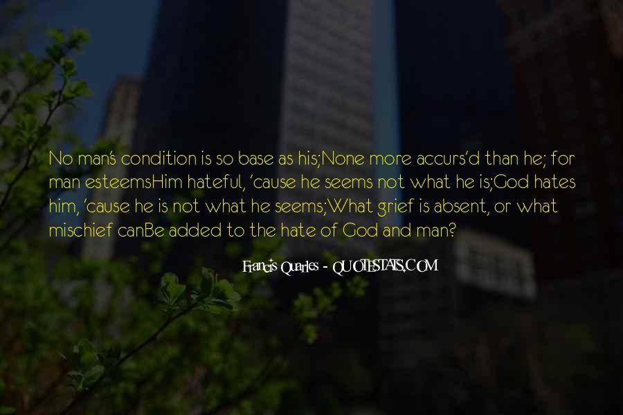 God Hates Us Quotes #376606