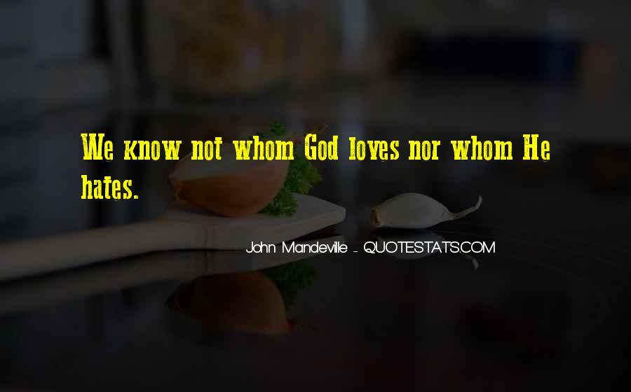 God Hates Us Quotes #461092