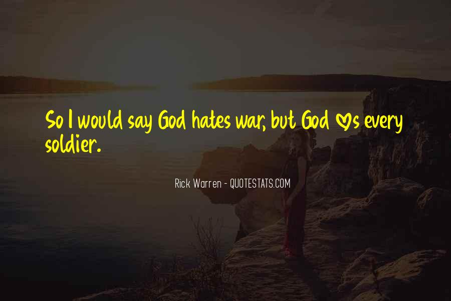 God Hates Us Quotes #577072