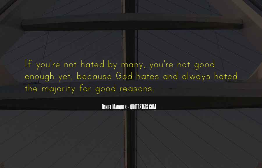 God Hates Us Quotes #645852