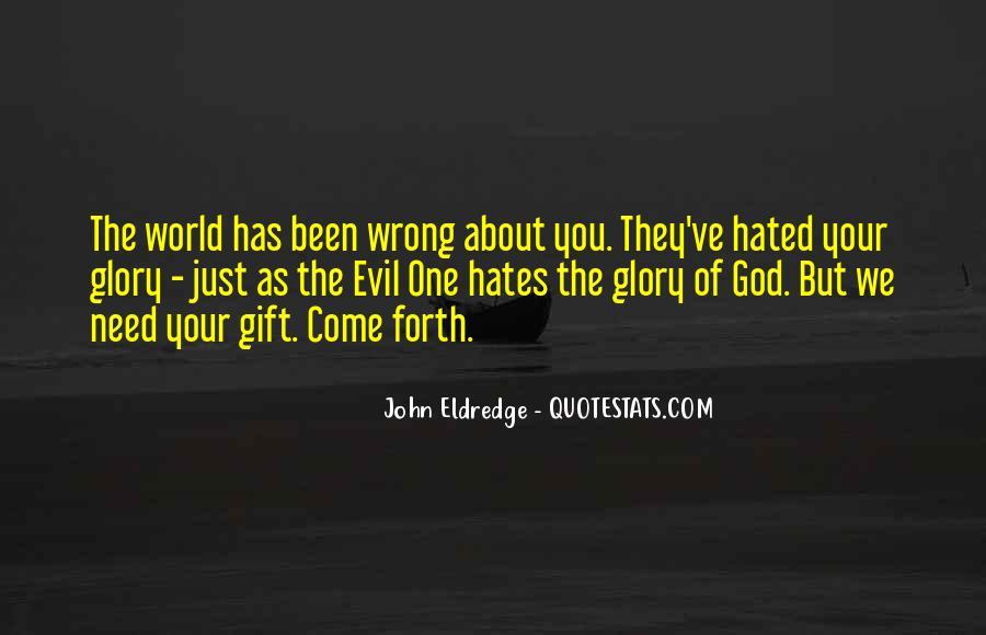 God Hates Us Quotes #660882