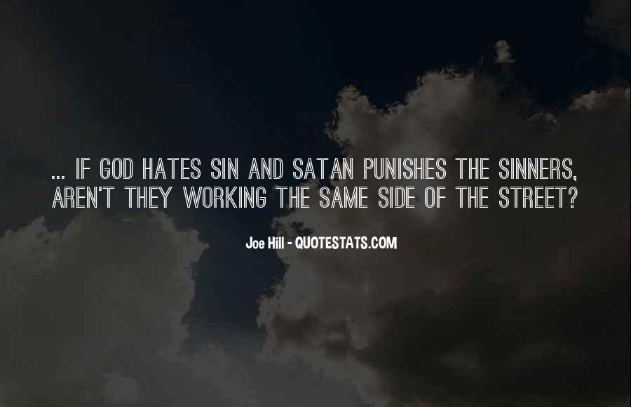 God Hates Us Quotes #723637