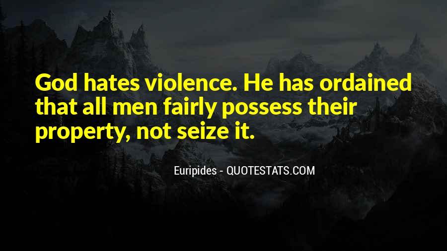God Hates Us Quotes #73442