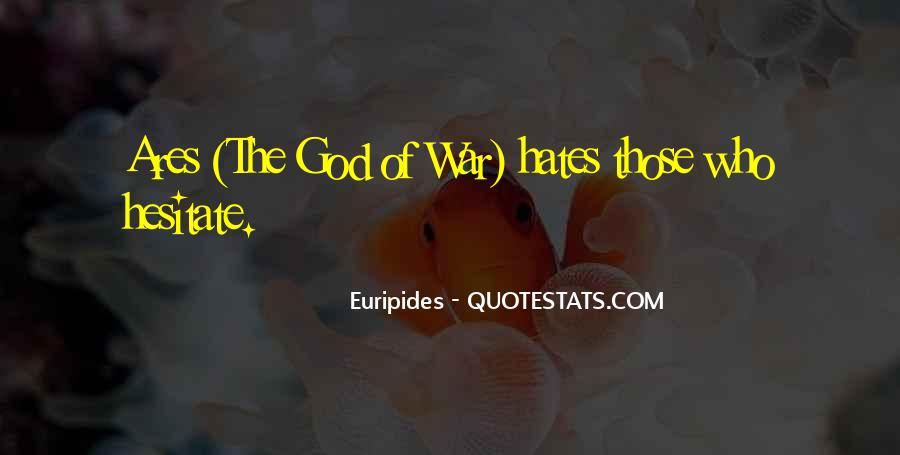 God Hates Us Quotes #833996