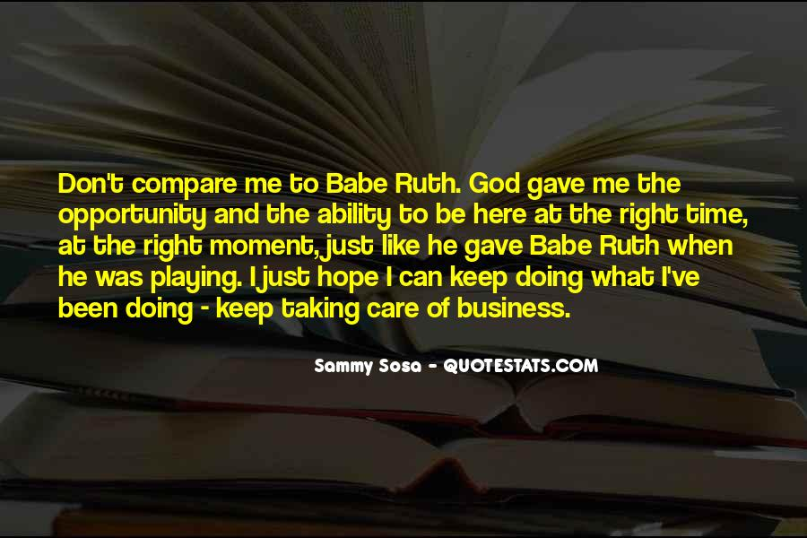 God Here Quotes #124841