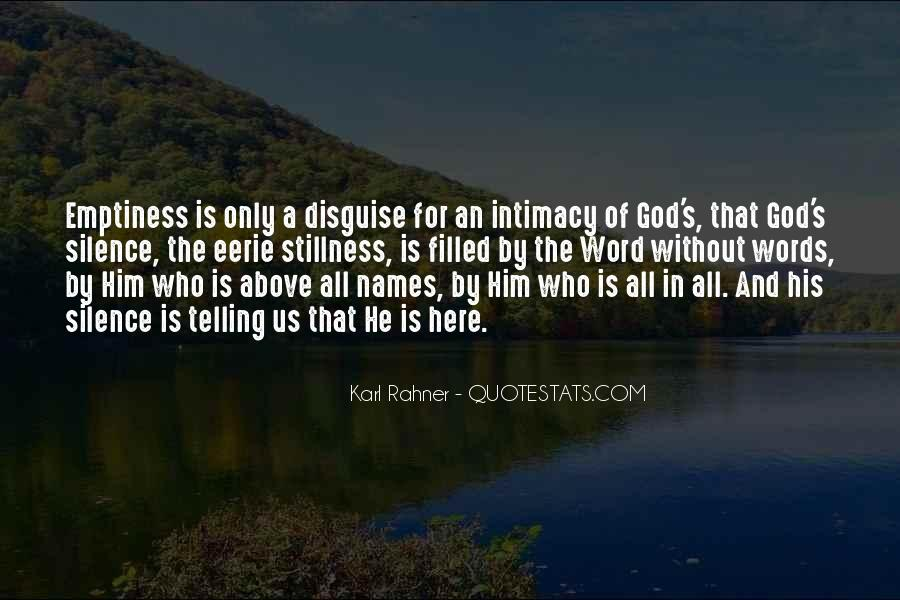God Here Quotes #18670